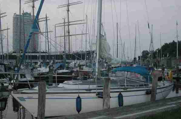 2006_06 Yacht Cedro in Travemünde