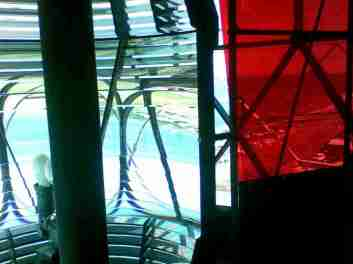 2009_08_04 Falshöft, Leuchtturm mit Fresnel-Linsen