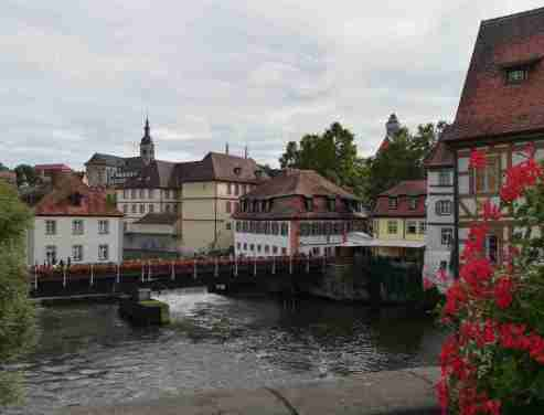 2020_07_26 Bamberg: Regnitz mit Brudermühle