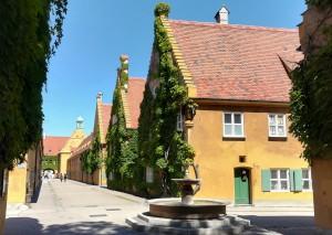 2019_08_18 Augsburg: Fuggerei