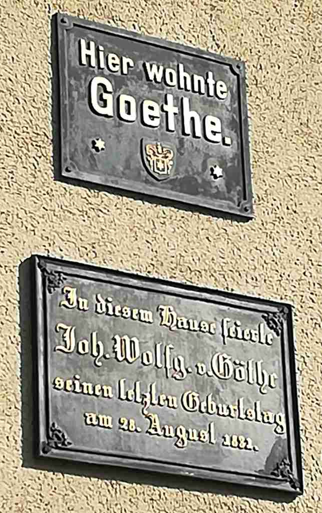 2020_09_14 Ilmenau, Goethe, Geburtstag 1831