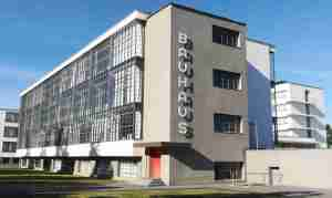 2020_09_18 Dessau, Bauhausgebäude