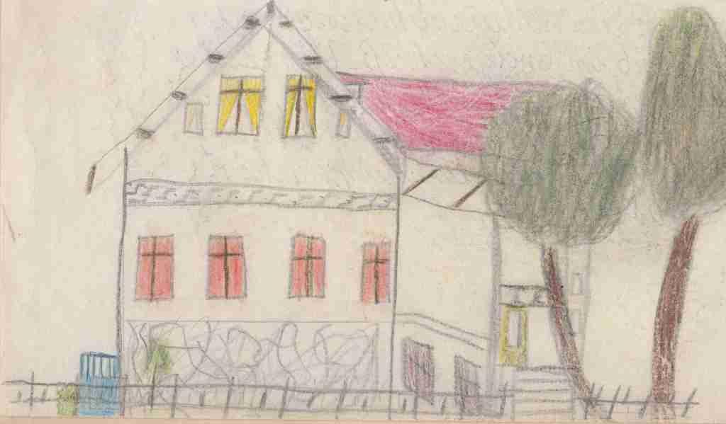 1956_04ca Heimatkunde - Wohnhaus Bismarckstr