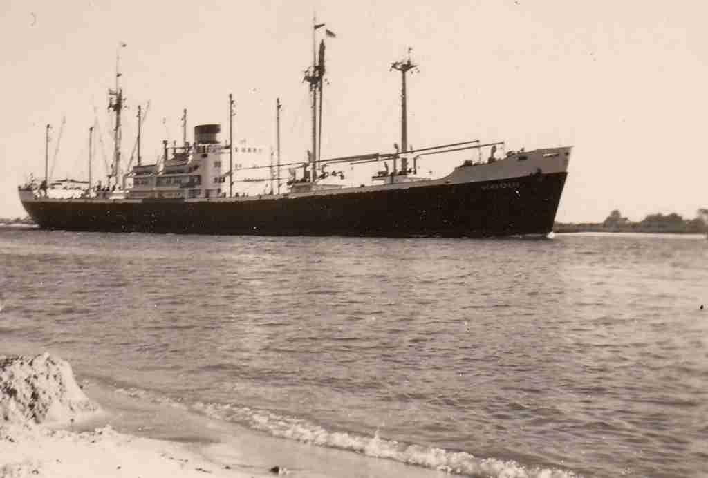 1959 Sommer - Weser detail