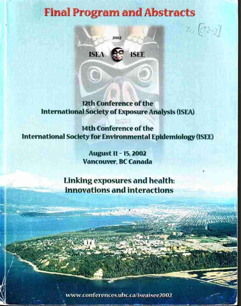 2002_08_11 ISEE Vancouver 02_01 Conf book cover