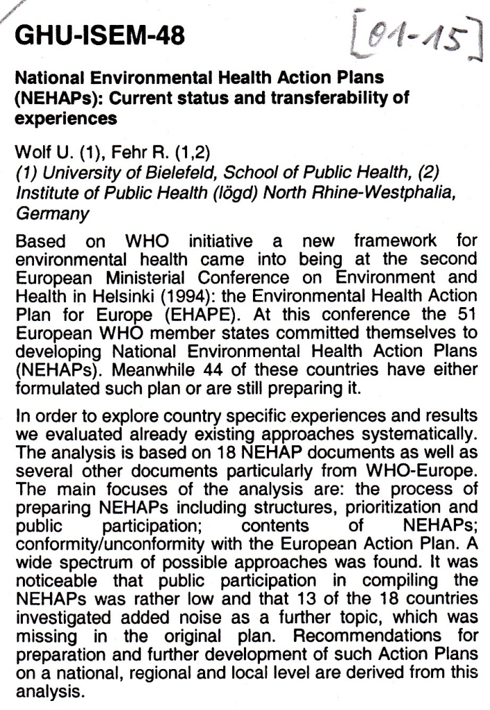 01_15 Wolf et al 2001 NEHAPs Abstract