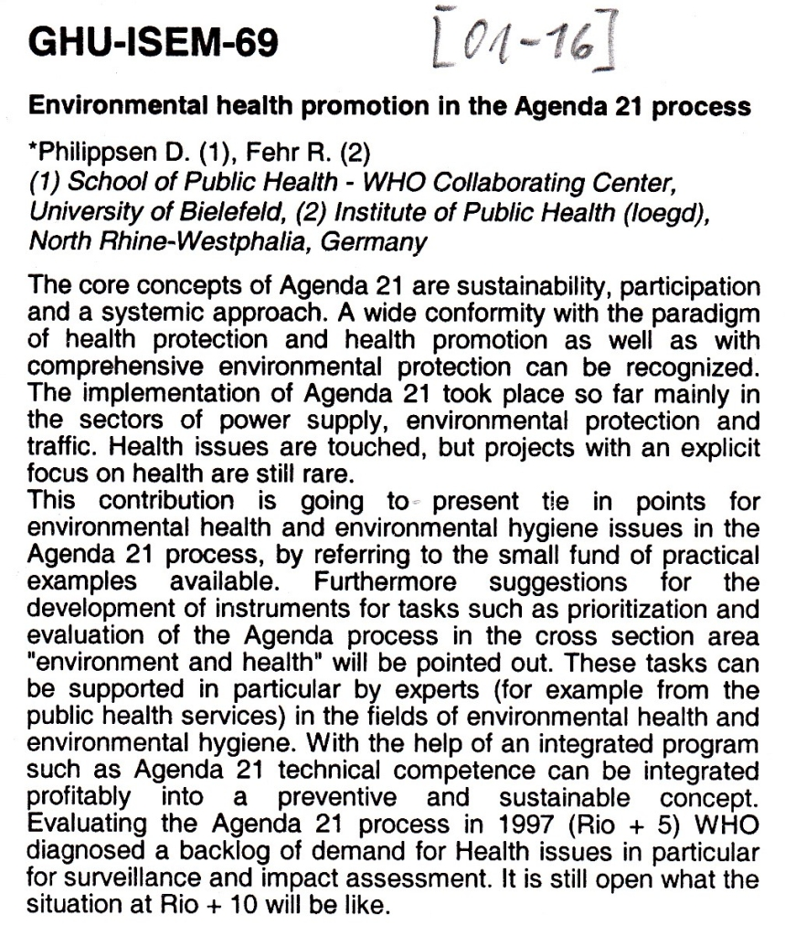 01_16 Philippsen et al 2001 EH promotion in A21Abstract