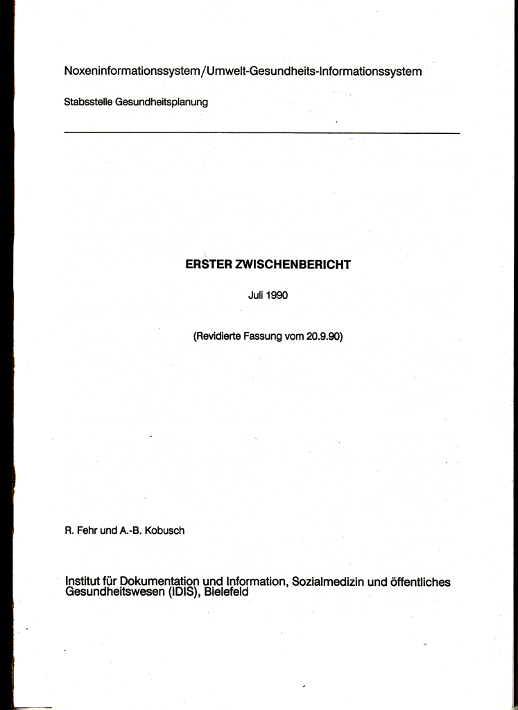 90_12 1990_09_20 NIS 1. Zw_bericht Innentitel