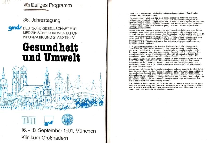 91_04 Fehr 1991_09_16-18 U'med Inf_systeme GMDS