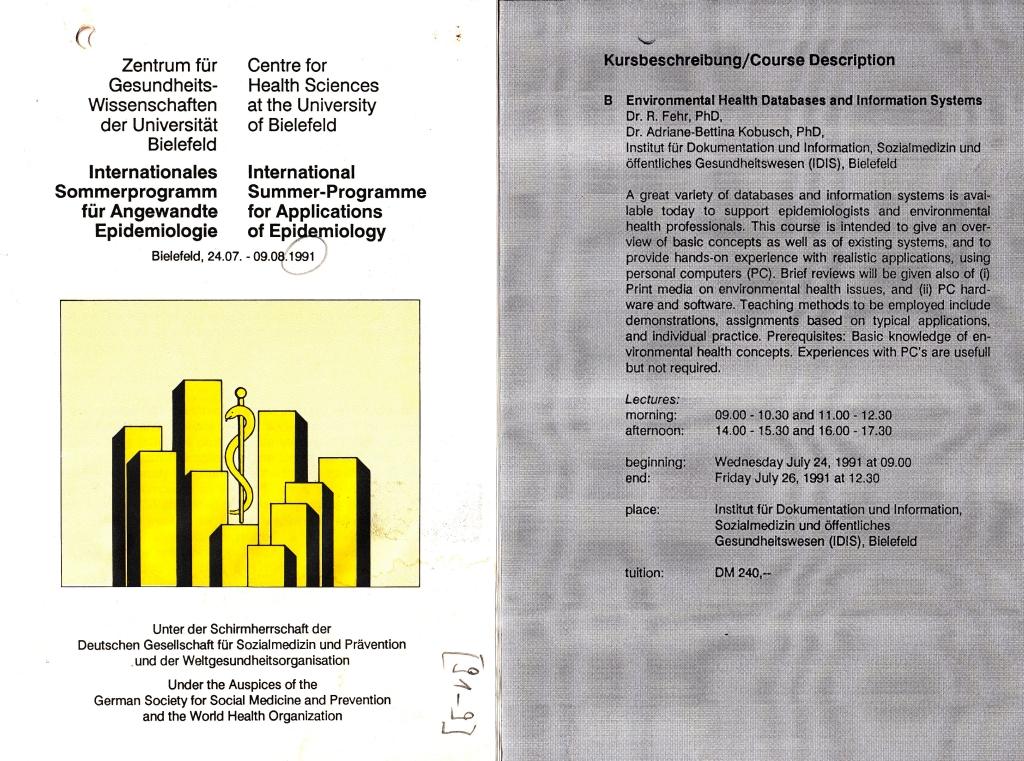 91_09 Summer program 1991_07_24-26 booklet