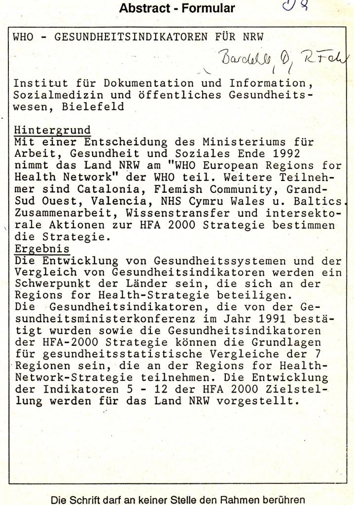 93_05 Bardehle & Fehr 1993_09_08-11 WHO-Indikatoren