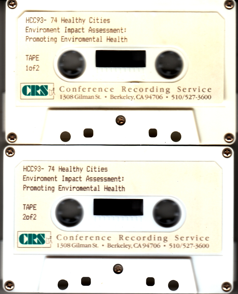 93_20 EIA session tapes 1993_12_08-11