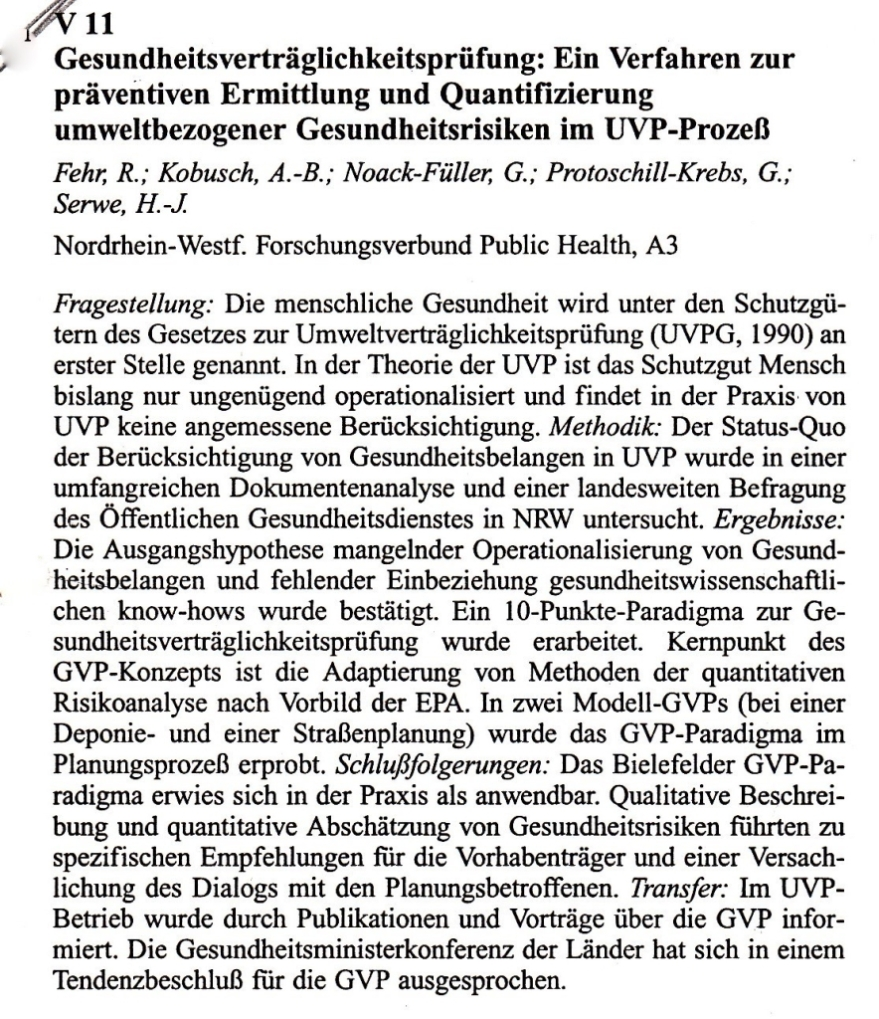 95_22 Fehr et al 1995_10_05-07 GVP Abstract