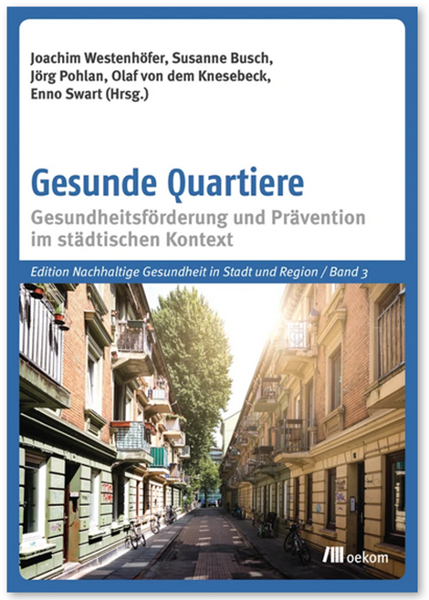 Westenhöfer et al 2021 Gesunde Quartiere Titelseite