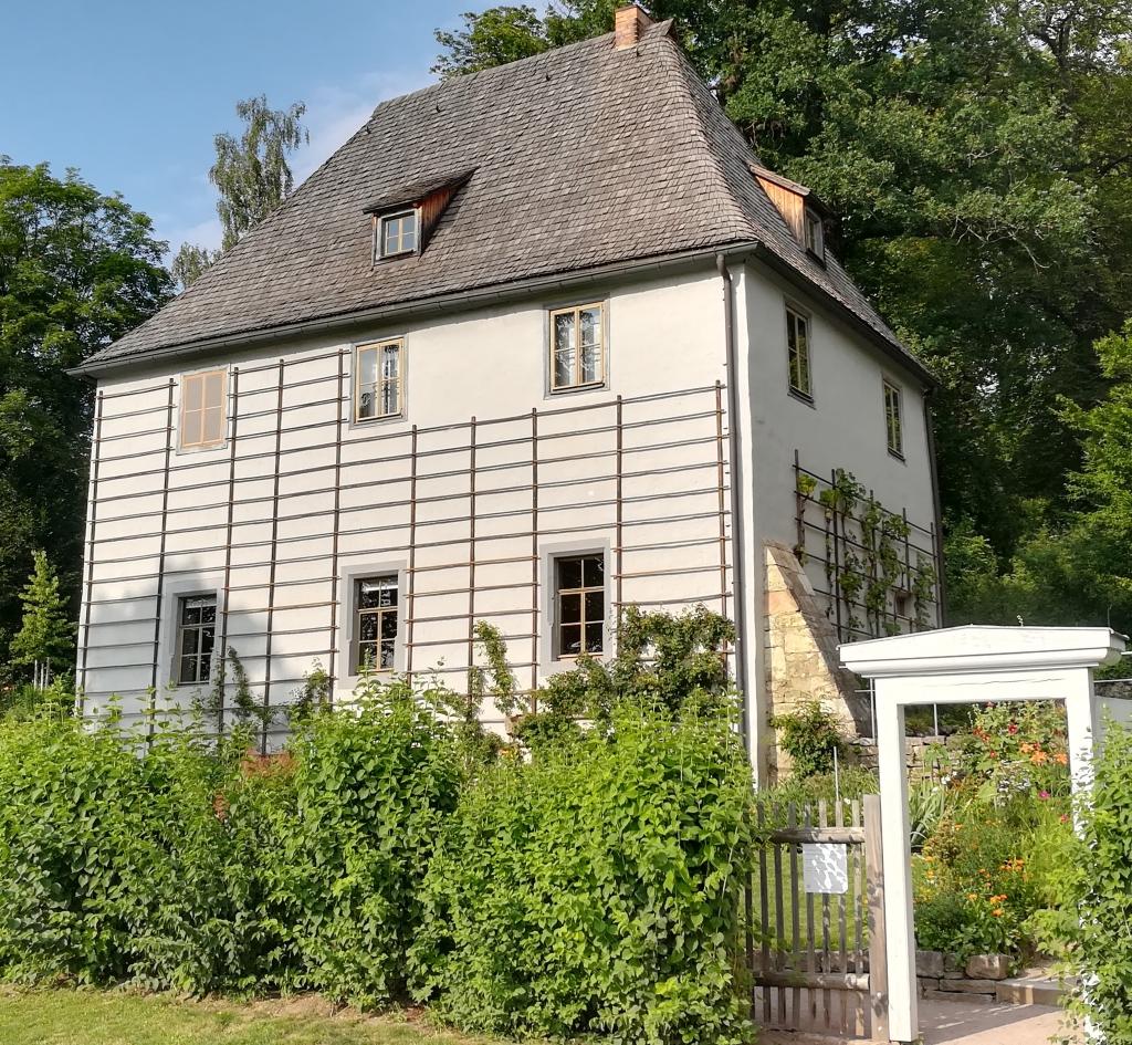 2021_07_22 Weimar, Goethes Gartenhaus