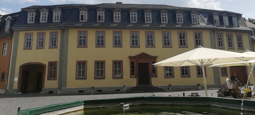 2021_07_23 Weimar, Goethes Wohnhaus, Am Frauenplan